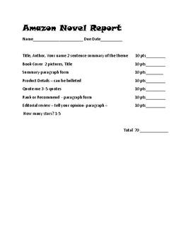 Book Report: Amazon Store Style