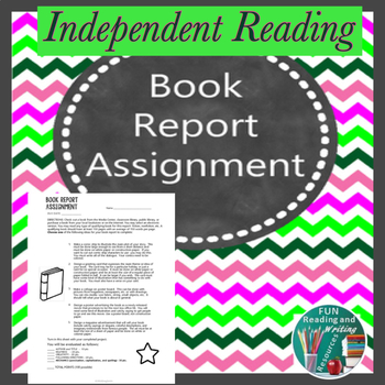 Book Report Assignment