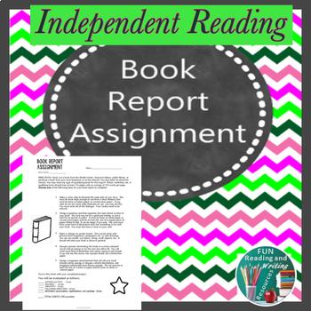 Book Report Assignment