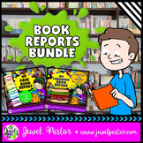 Creative Book Reports BUNDLE (Sandwich and Cake Templates with Rubrics)