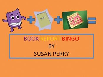 Book Report Bingo