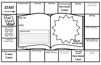 Book Report Board Game