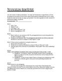 Book Report Bonanza