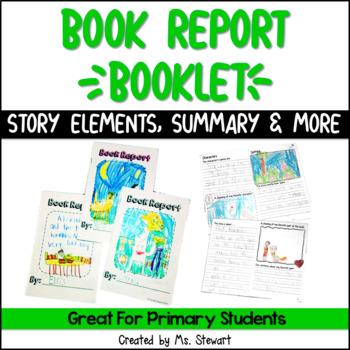 "Book Report ""Booklet"""
