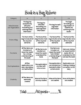 Book Report: Book in a Bag