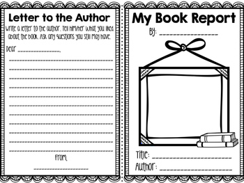 Book Report Booklet