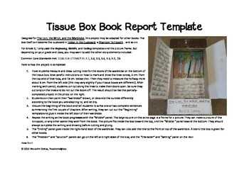 Book Report Box Project