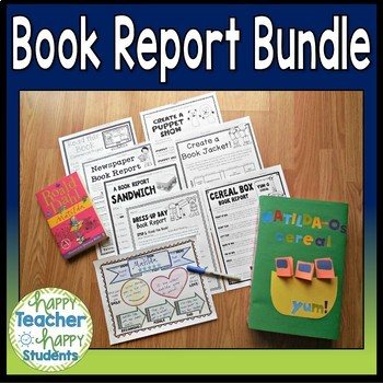 Book Report Bundle #1: 8 Best-Selling Book Reports Perfect for 2nd - 5th Grade!