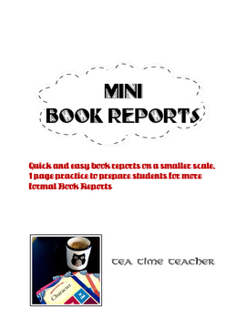 The Mini-Book Report Bundle