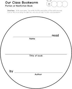 Book Report Bundle: Bookworm, Rockets, and Stars