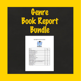Genre Book Report Bundle, Use With Any Book, 9 Book Projec