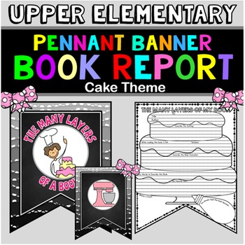 Book Report Template: Cake Theme: Book Review Form