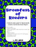 Book Report - Cereal Box