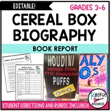 Book Report- Cereal Box Biography