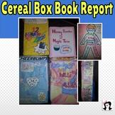 Book Report: Cereal Box Book Report