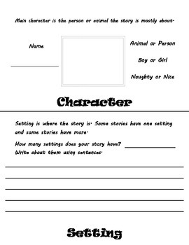 Book Report: Character, Setting, Event