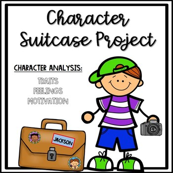 Book Report- Character Suitcase