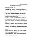Book Report Checklist