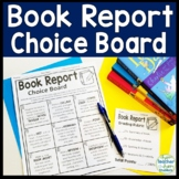 Book Report Choice Board Menu: Book Report Template for Any Book!