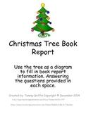 Book Report Christmas Tree