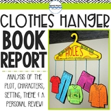 Book Report, Clothes Hanger Book Mobile Reading Project