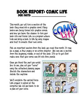 Book Report: Comic Life
