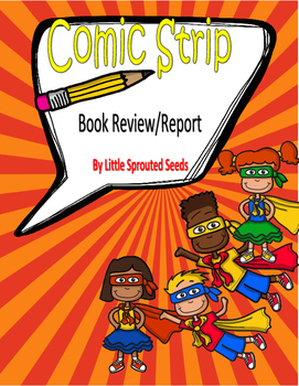 Book Report, Comic Strip