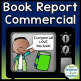 Book Report Commercial: Book Commercial is a Fun Persuasive Writing Activity!