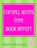Book Report: Cornell Notes type