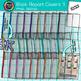 Book Report Cover Clip Art Bundle   Rainbow School Supplies for Teachers