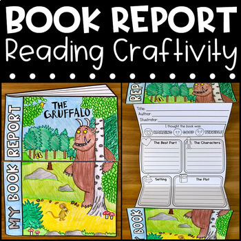 Book Report Craftivity