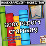 Book Report Craftivity For Nonfiction Books