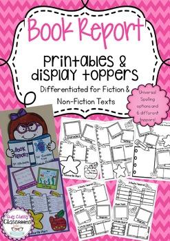 Book Report Display Pack
