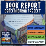 Book Report | Book Review | Dodecahedron | 3D Project