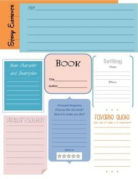Book Report Elements