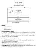 Book Report First Grade Flip Book