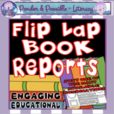 Book Report ~ Flip Book Reading / Text / Novel Responses