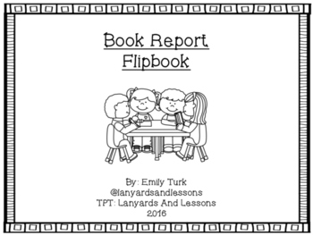 Book Report Flipbook