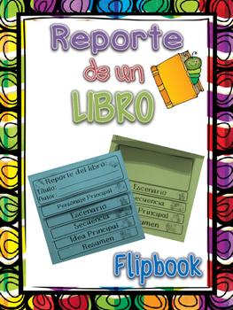 Book Report Flipbook / Reporte del libro
