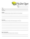 Book Report Forms: Fiction & Non-Fiction