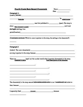 Book Report Framework