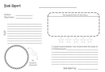 Book Report - Freebie!