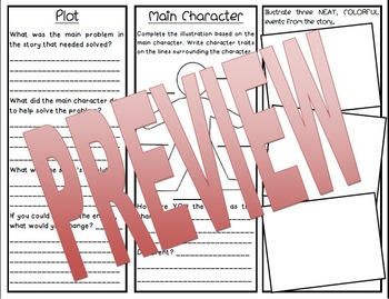 Book Report: Generic Trifold