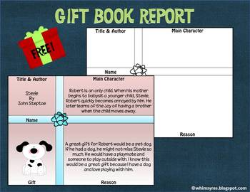 Book Report Gift