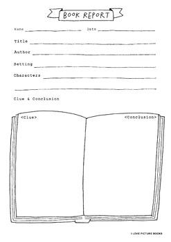 Book Report / Graphic Organizer