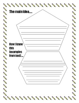 Book Report Graphic Organizer