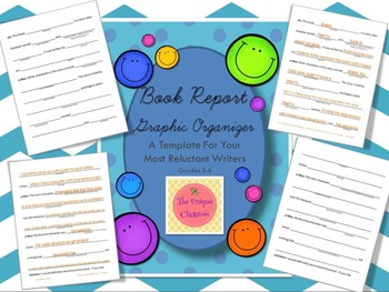 Book Report Graphic Organizer Template