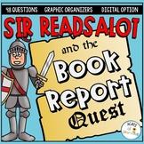 Book Report Activity | Sir Readsalot's Book Report Quest