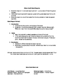 Book Report Guidelines for Middle School