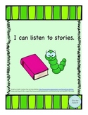Book Report: I can listen to stories